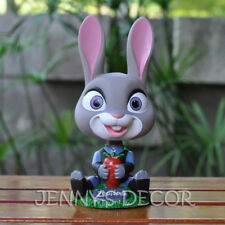 Zootopia Toys Judy Hopps Booblehead Nodder Figure Shaking Head Doll Car Decor