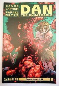 AVATAR PRESS | DAN THE UNHARMABLE | NR. 7 REGULAR COVER (2012) | Z 1+ VF+