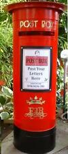 WEDDING ROYAL MAIL PILLAR POST BOX,Personalised,Any Colour,Reusable To BUY