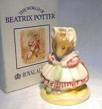 Royal Albert Beatrix Potter BP6A vieja Zapato Tejer En Caja