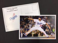 Clayton Kershaw LA Dodgers 2017 Major League Baseball 4x6 Postcard Series 1