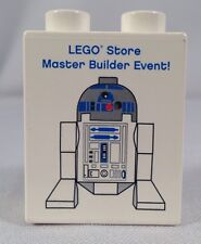 LEGO Store STAR WARS R2D2 2009 Master Builder Event Duplo Brick NEW R2-D2