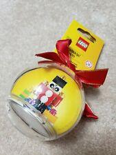 Lego 853907 Toy Soldier Ornament Brand New Sealed Free Ship Christmas nutcracker