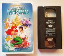 BANNED COVER ART 1989 Little Mermaid ANIMATED MOVIE Black Diamond VHS TAPE