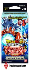 ♦Dragon Ball Super Card Game♦ Set Pack Spécial Série 9 : Universal Onslaught
