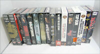 Lot of 16 Factory Sealed VHS Cassette Tapes Action Dramas & Thrillers