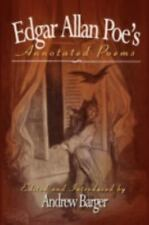 Edgar Allan Poe's Annotated Poems by Edgar Allan Poe (2008, Hardcover)