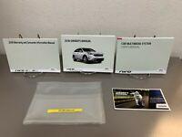 2018 Kia Niro Hybrid Genuine OEM Owner's Manual Set w/Navigation Manual & Case
