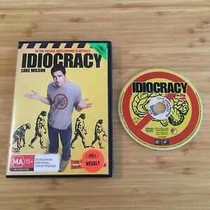 Idiocracy (2006)   Australian PAL Region 4 DVD   Aussie Seller   Free Postage