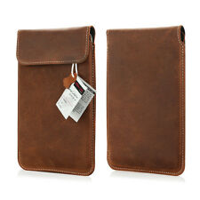 e book reader  Echt Leder Tasche für PocketBook Touch HD 3 Etui Slim Case Braun
