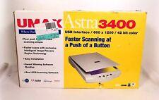 New Driver: UMAX VistaScan SCSI/USB Scanner