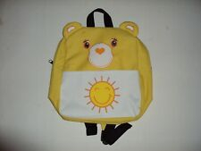 Care Bears Children's FunshineYellow Backpack Brand New Check Pictures