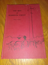 The Men of Mammoth Forest by Floyd L. Otter (1963, Hardcover) Signed #sp