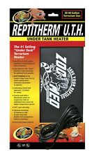 "Reptitherm Uth Mat Heater 30-40 Gallon Reptile Terrarium 8"" x 12"" Heating Pad"