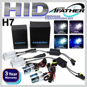 H7 55W Xenon HID Conversion Car Headlight Lamps Light Bulbs 5000K 6000K 8000K 2x
