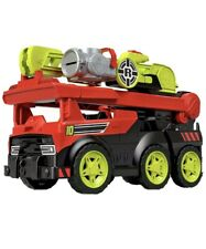 Fisher-Price Rescue Heroes Transforming Fire Truck with Lights & Sounds New