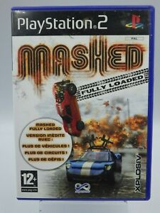 PS2 Mashed Fully Loaded Gioco PLAYSTATION 2 Vintage Retrogaming