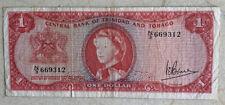 Trinidad and Tobago, 1 Dollar 1964. Good Condition, Circulated