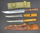 Vintage Knife lot Dexter ONTARIO Case xx chefs skinning hunting kitchen