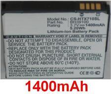 Batterie 1400mAh type BH39100 Pour HTC X710a