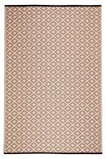 Fab Habitat Indoor/Outdoor Rug, Picnic Blanket/Mat, Kimberley Beige L