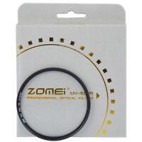 ZOMEI Ultra Slim UV Filter 40.5/49/52/55/58/62/67/77/82MM Protector for SLR DSLR