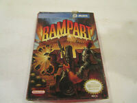 Rampart in Box for Original Nintendo Entertainment System Cartridge