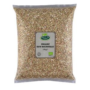 Organic Raw Buckwheat Groats 10kg Certified Organic