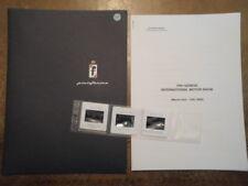 PININFARINA 2000 orig Press Kit - Ferrari 360 Spider Fiat Coupe Peugeot 306 406
