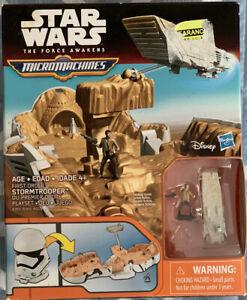 Hasbro Micro Machines Playset Star Wars First Order Stormtrooper  NIB