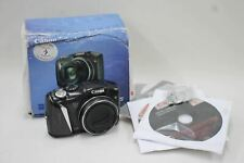 CANON PowerShot SX130IS Black Digital Photo/Video 12.1 MP 12x 28mm Camera