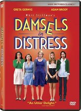 Damsels in Distress (DVD) Greta Gerwig, Adam Brody NEW