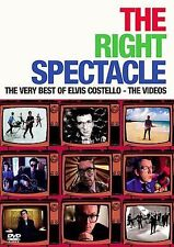 Right Spectacle Very Best Elvis Costello Music Videos DVD 2005 bonus features