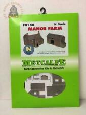 Metcalfe PN150 N Gauge Manor Farm House and Barn