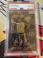 Kobe Bryant 1996-97 Topps Finest Basketball #74 Lakers RC Rookie PSA 8