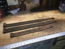 3 Antique Barn Door Iron  Strap Hinges Rustic Farm