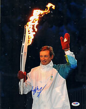WAYNE GRETZKY SIGNED AUTO'D 11X14 PHOTO PSA/DNA AB08799 NHL KINGS OILERS RANGERS