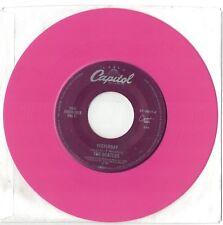 Beatles 45 single COLORED Vinyl Pink - Yesterday