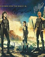 **The Hunger Games: Catching Fire *MOVIE CAST* Signed 8x10 Photo AD2 PROOF COA**