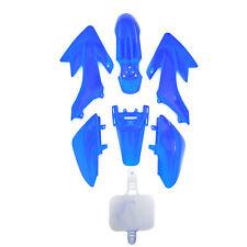 Blue Pit Bike plásticos Set CRF50 110cc 120cc 125cc de gráficos pitbike Carenado
