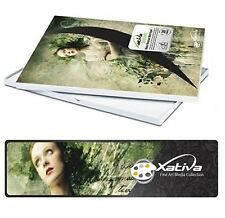 Xativa Canvas Textured Paper A3 230gsm for Epson Canon HP Cora inkjet printers