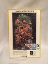 1055) The Shakespearean Poster James C. Christensen 1000 piece puzzle FX Schmid