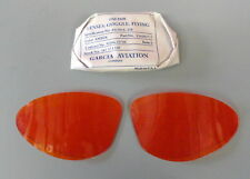 AN-6530/B-7 AMBER COLORED SHATTERPROOF LENSES