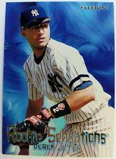 1997 97 Fleer Rookie Sensations Derek Jeter #7, Insert Card, Yankees