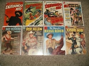 LOT 13 DURANGO KID, BILLY THE KID, ROY ROGERS - 1940'S & 1950'S - 10 CENT ISSUES