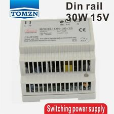 30W 15V 2A Riel Din única salida Switching Power Supply