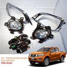 2014+ Fit Nissan Navara Np300 Pick Up 2WD 4WD Fog Lamp Spot Light Set Ute