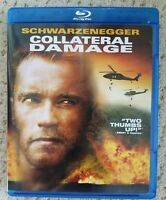 Collateral Damage Arnold Schwarzenegger Blu-ray Excellent Condition