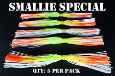 PRO-TIE-BANDED-SKIRTS-Chatterbait-spinnerbait-fishing-lure-skirts-Qty-5-per pack