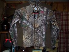 REALTREE LADIES CAMOUFLAGE WATER RESISTANT JACKET WIND PROOF SIZE SMALL 4-6 NEW